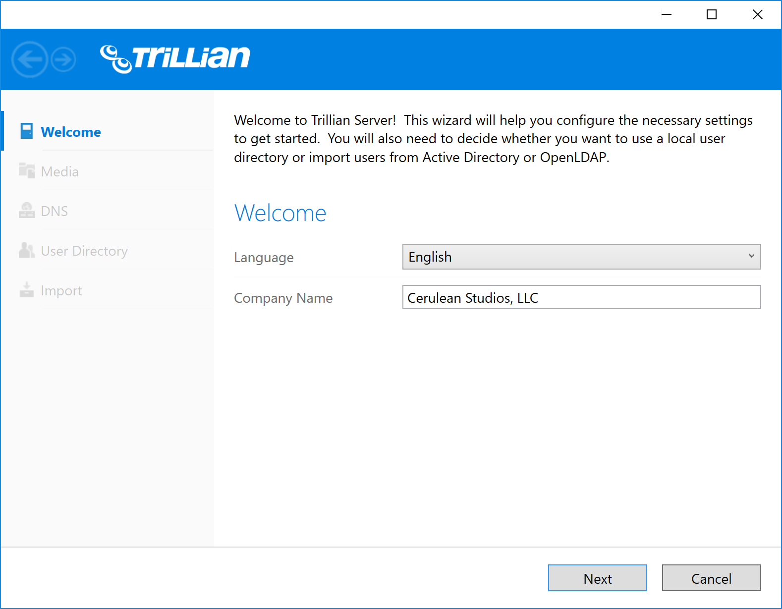 Server Documentation | Trillian