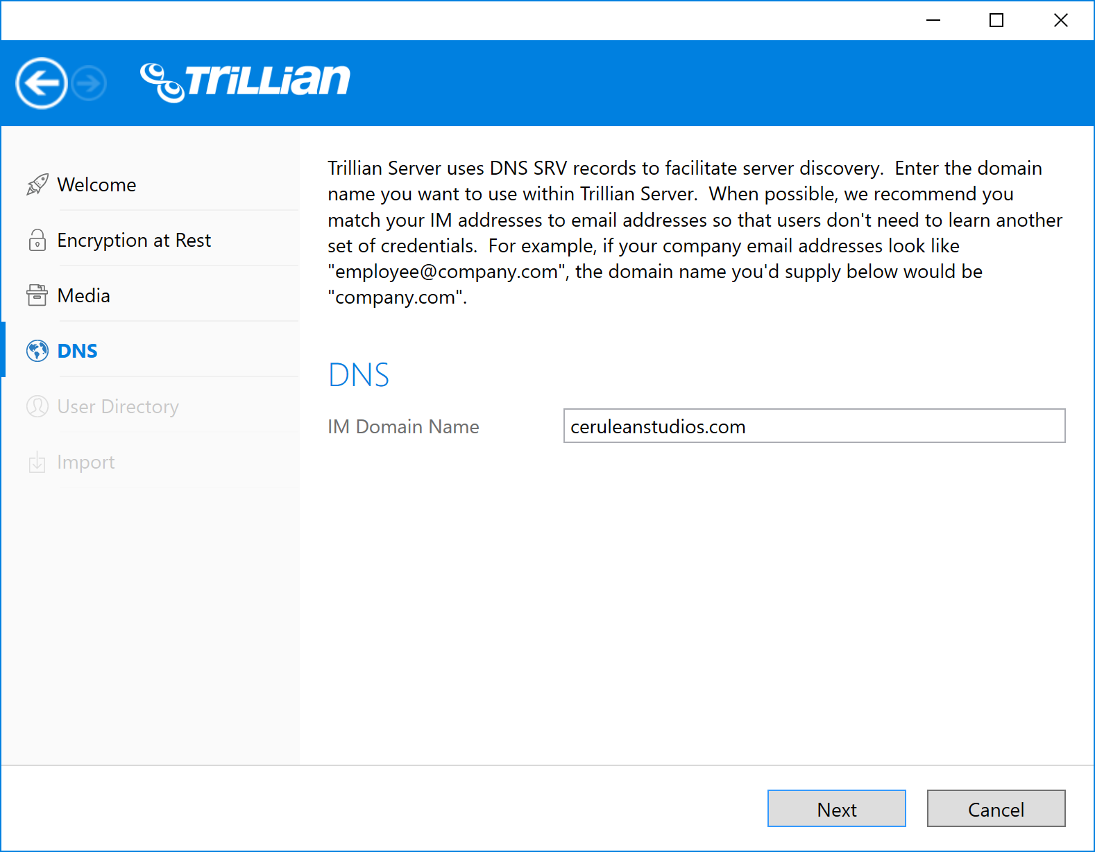 Getting started with trillian server trillian you will have the opportunity to provide a ca signed certificate after the installation process 1betcityfo Images