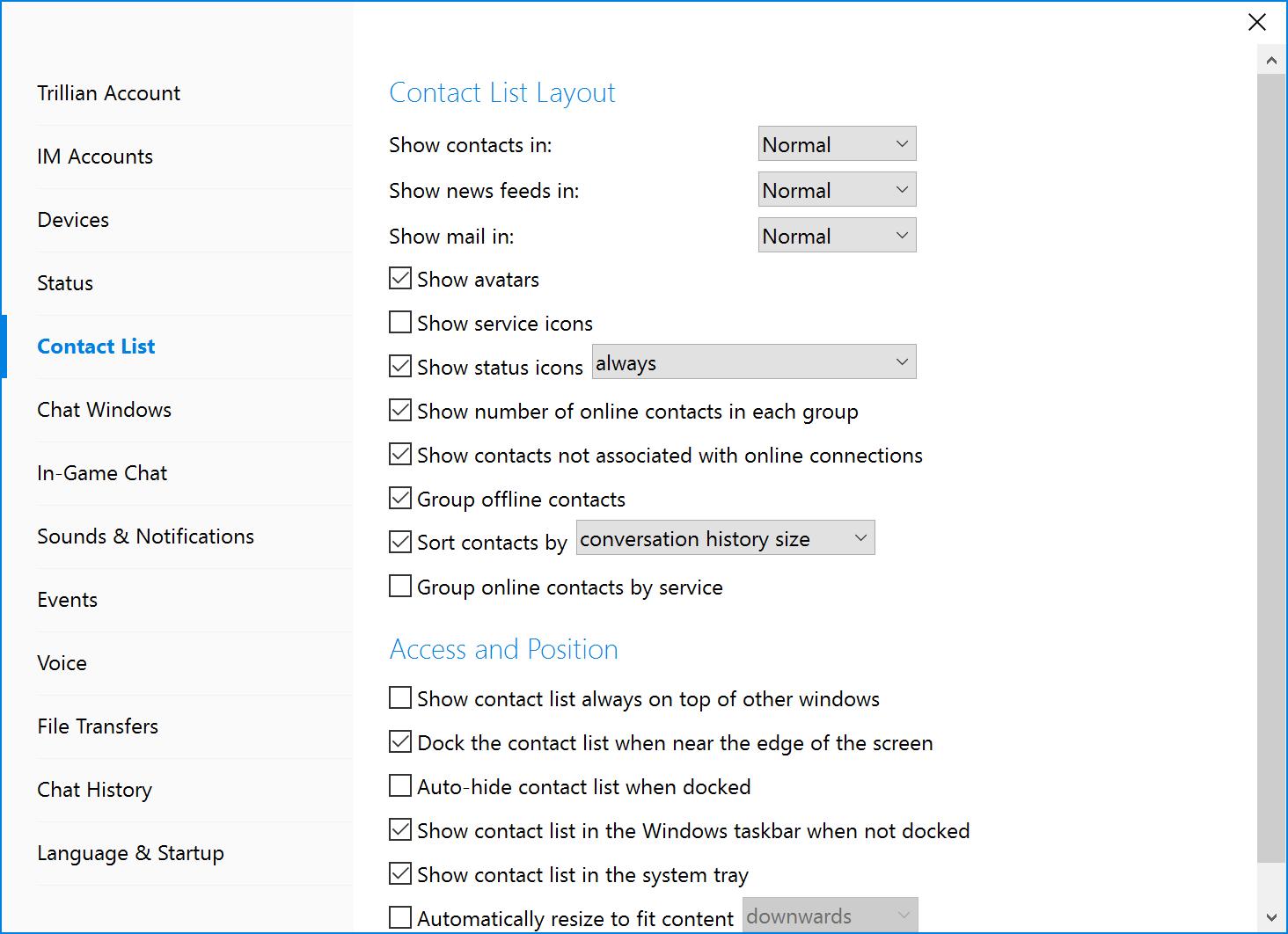 how to make an offline list