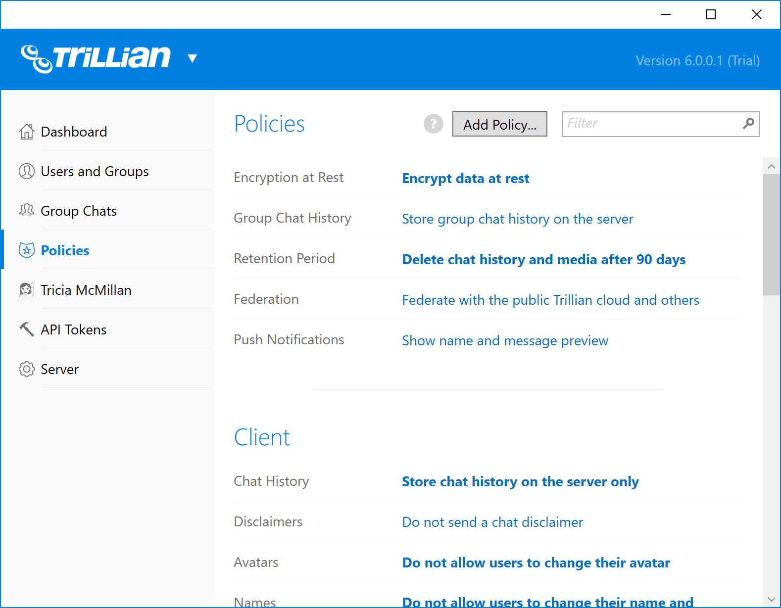 What's New | Trillian